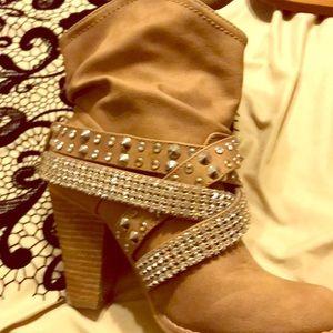 Rinestone boots